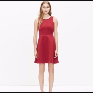 Madewell Adore Red Wine A Line Dress